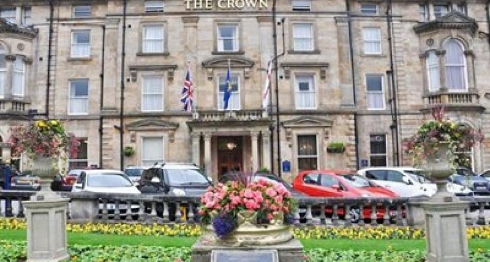 Crown hotel harrogate wedding