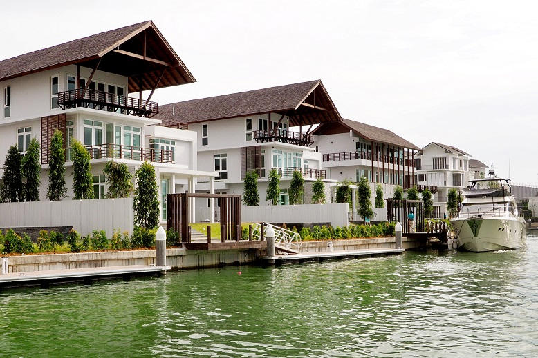 The 12 new luxury villas on The Island, or Phase 1B of Emerald Bay, are priced from RM12 million to RM18 million