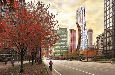 alberni by kengo kuma a luxury project in downtown vancouver saw strong foreign interest with 38 of buyers from overseas