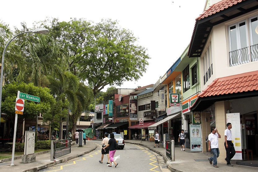 One of the attractions of living in Pasir Panjang is its proximity to Holland Village