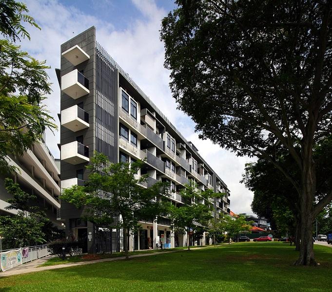 Viva Vista, a mixed-use development on Pasir Panjang Road, is a redevelopment of The Village Centre in Pasir Panjang