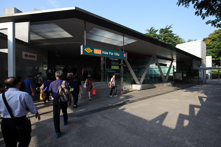 The upcoming 24 One Residences is within a five-minute walk from the Haw Par Villa MRT station
