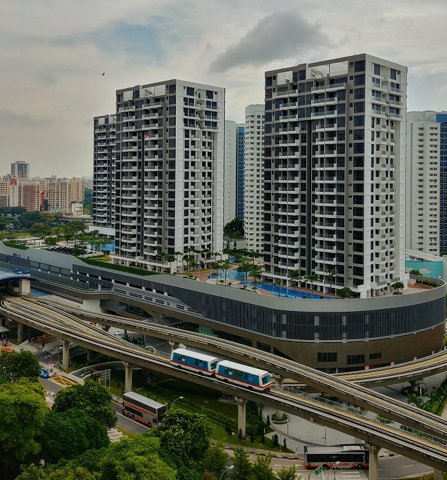Hillion, an integrated development with residential and retail components, is linked to the Bukit Panjang MRT and LRT stations as well as the bus interchange