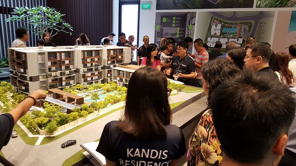 Tuan Sing previewed Kandis Residence over the weekend of Aug 26 and 27