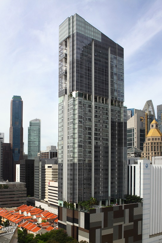 The Clift is a 43-storey, 99-year leasehold apartment tower that has commercial units on the ground level