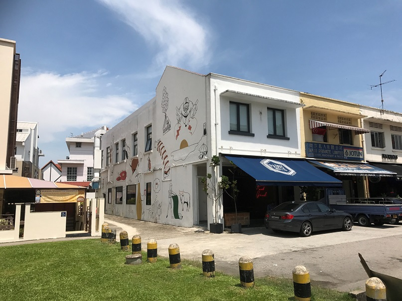 JLL is marketing a freehold corner shophouse at 38 South Buona Vista Road for $9 million