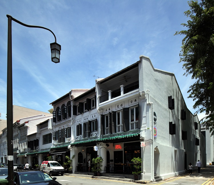 These five shophouses at the corner of Amoy Street have been turned into an F&B cluster that includes fusion restaurant Birds of a Feather; Argentinian restaurant Bochinche; and Asian-inspired restaurant Ding Dong