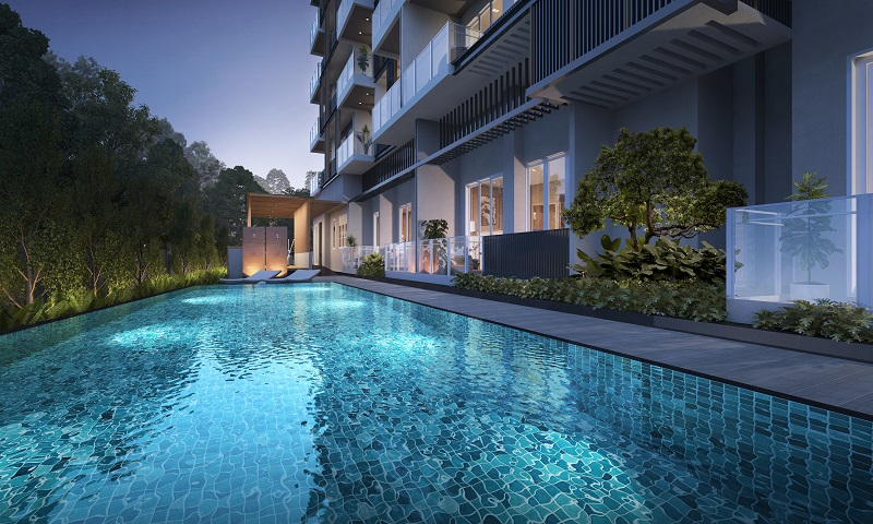Jervois Treasures is a five-storey luxury development. Prices start from $1.37 million (Picture: Fragrance Group)