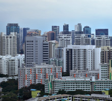The price moderation was quite even across market segments with the CCR, RCR and landed sub-markets registering price increases of below 1% (Photo: Samuel Isaac Chua/EdgeProp Singapore)