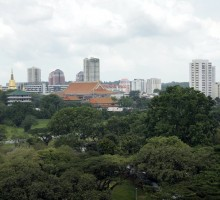 EDGEPROP SINGAPORE - The Ang Mo Kio Avenue 1 site is a short distance from the future Mayflower MRT station on the Thomson-East Coast Line, and opposite the popular Bishan-Ang Mo Kio Park (Photo: Samuel Isaac Chua/EdgeProp Singapore)