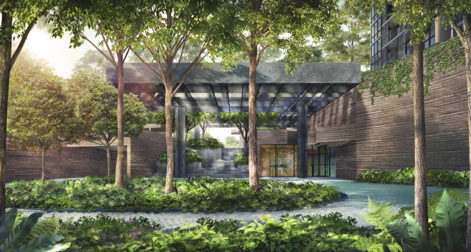 Martin Modern: A home within a botanic garden - New launch property news