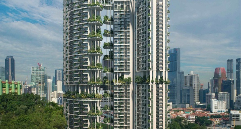 CapitaLand's One Pearl Bank goes green - New launch property news