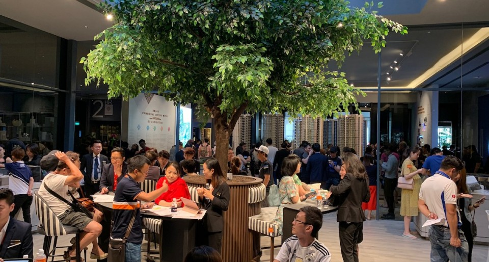 SingHaiyi's Parc Clematis draws more than 5,000 visitors on preview weekend  - New launch property news