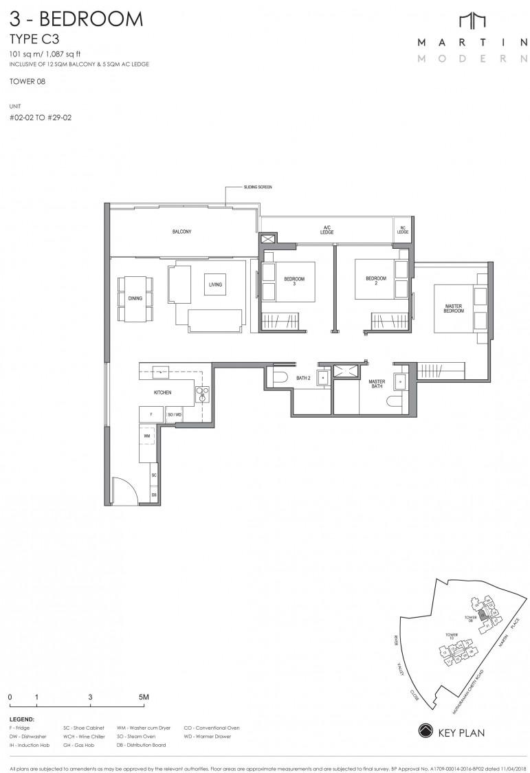 Martin Modern - Floor Plan 14