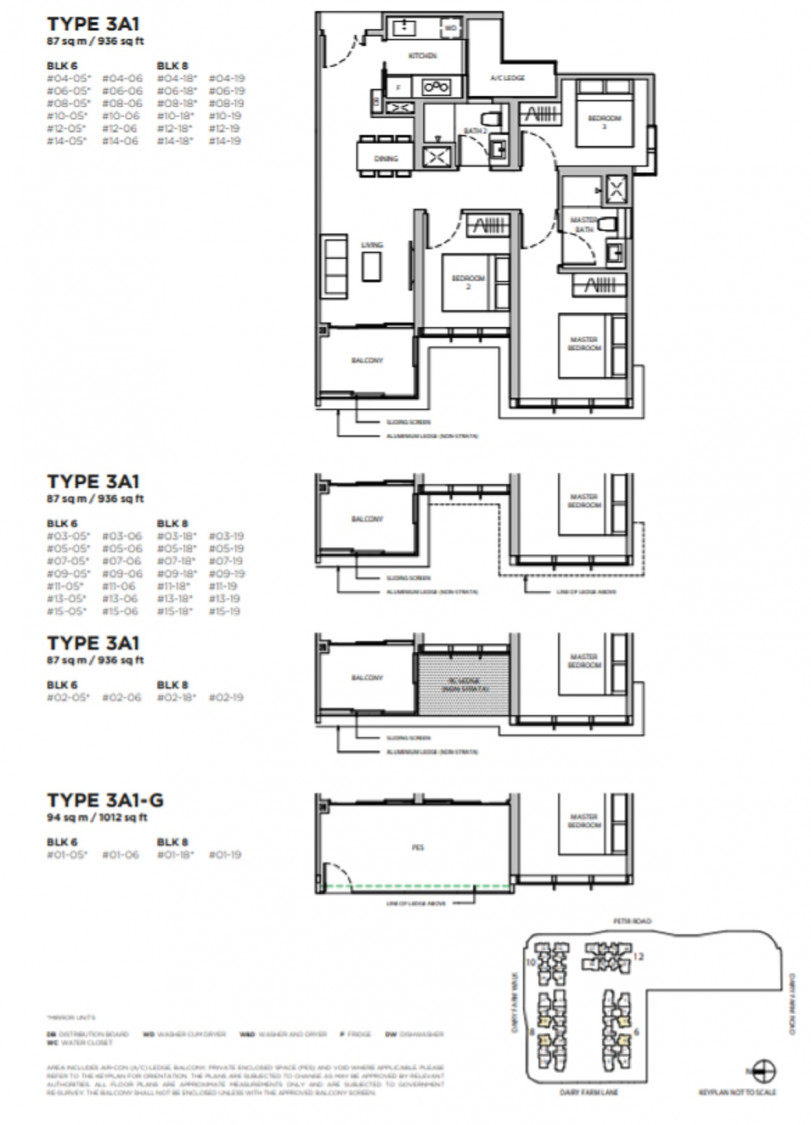 Dairy Farm Residences - Floor Plan 19
