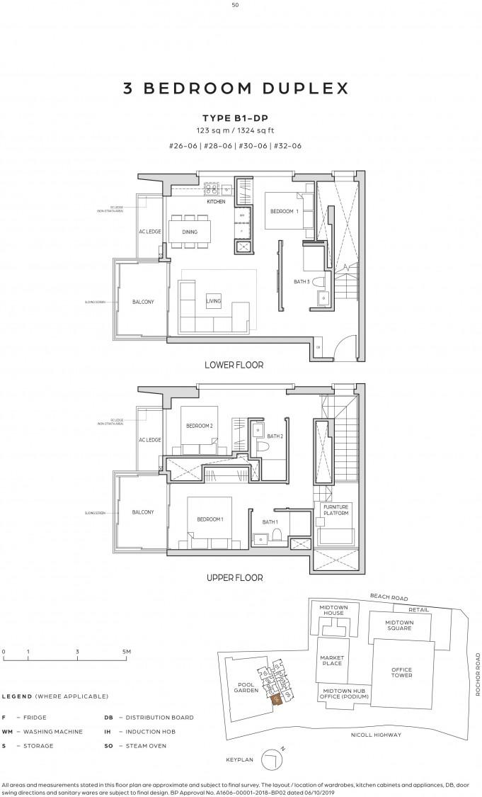 Midtown Bay - Floor Plan 15