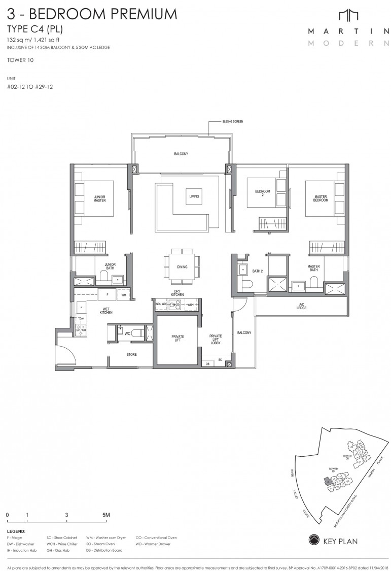 Martin Modern - Floor Plan 15