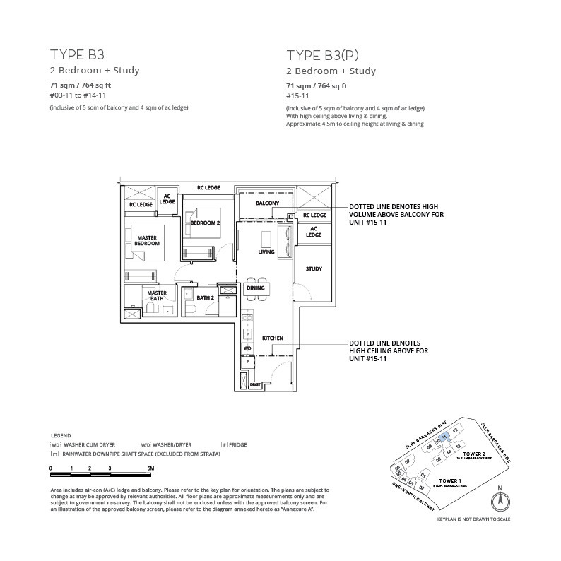 One-north Eden - Floor Plan 23