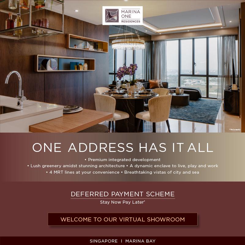 Marina One Residences condo - singapore new launches