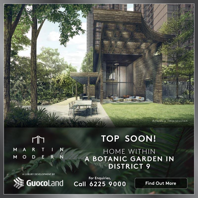 Martin Modern - New Launch Condominium 2021
