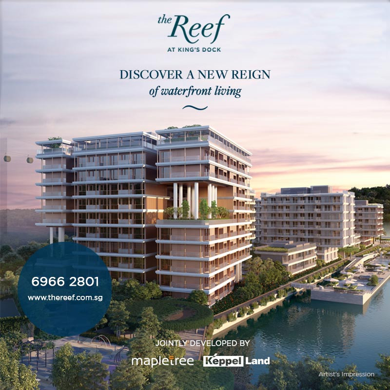 THE REEF AT KING's DOCK - New Launch Condominium 2021