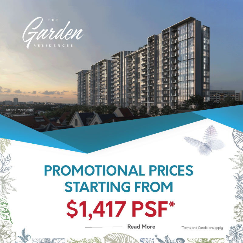 The Garden Residences - New Launch Apartment 2021