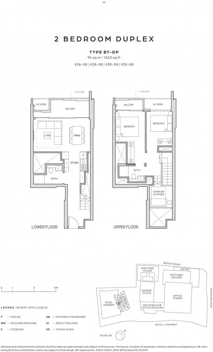 Midtown Bay - Floor Plan 14