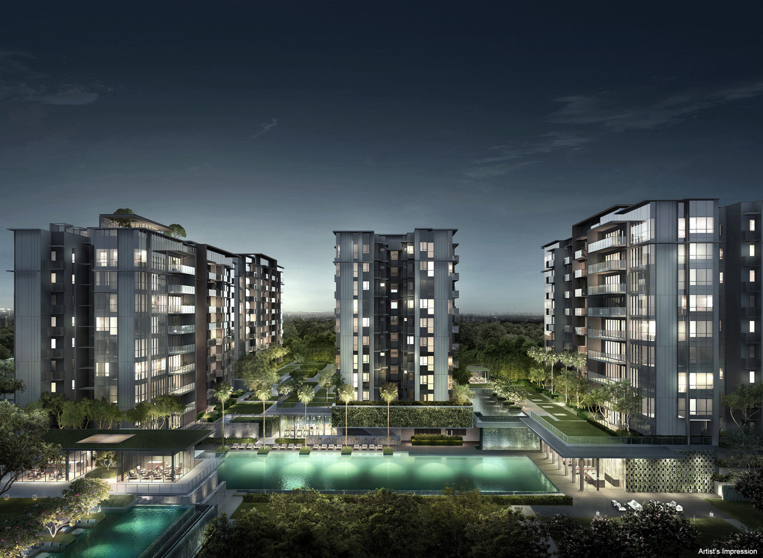 Forett At Bukit Timah - New Launch Apartment 2021 0