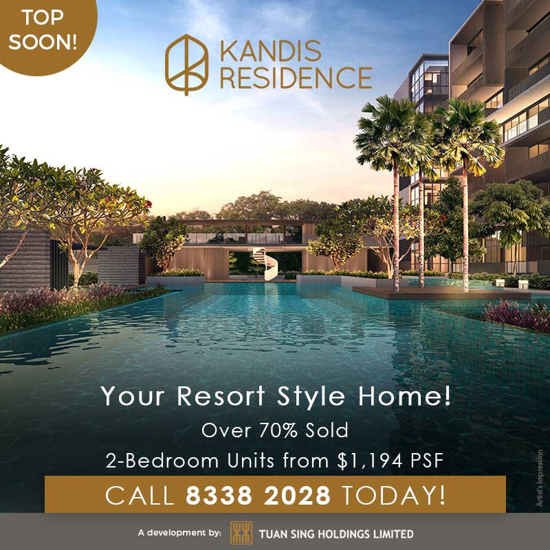 Kandis Residence condo - singapore new launches