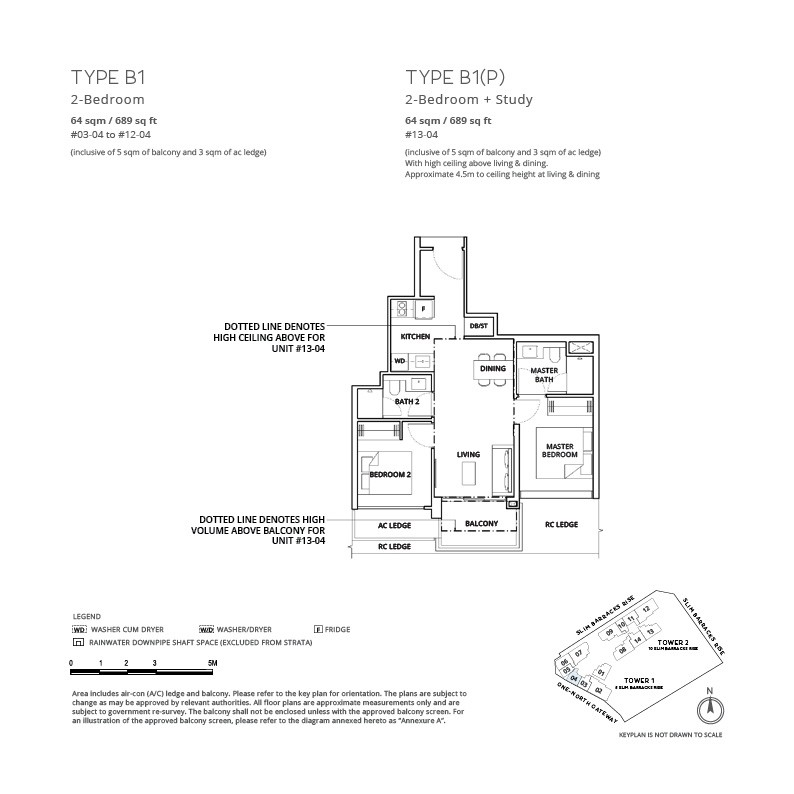One-north Eden - Floor Plan 21