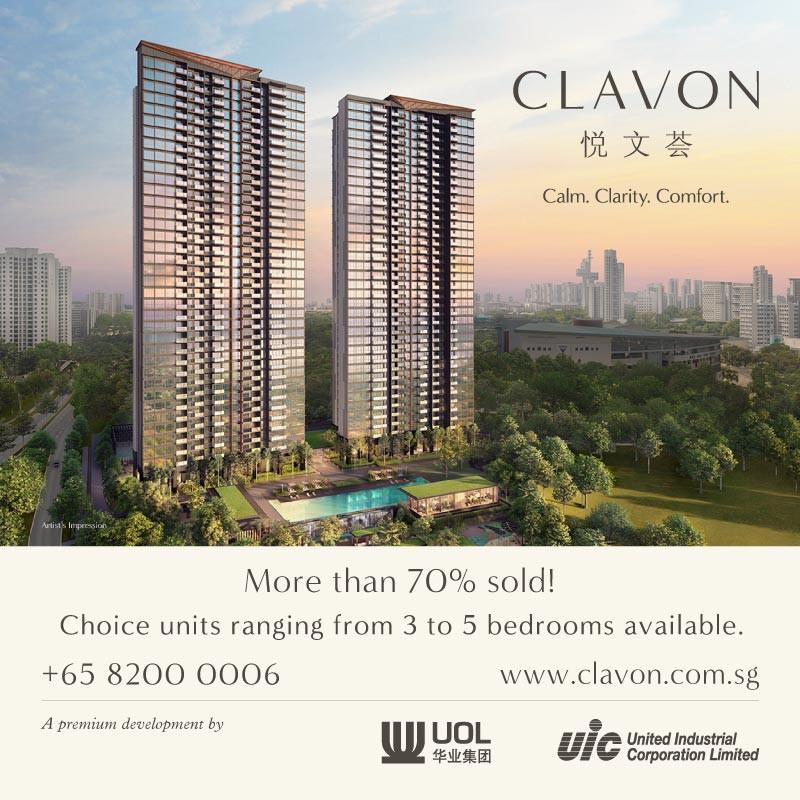CLAVON condo - singapore new launches