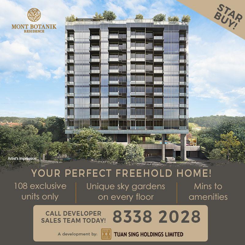 Mont Botanik Residence condo - singapore new launches