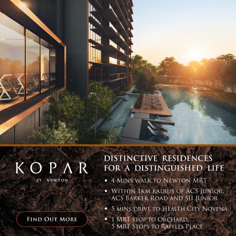 Kopar At Newton condo - singapore new launches