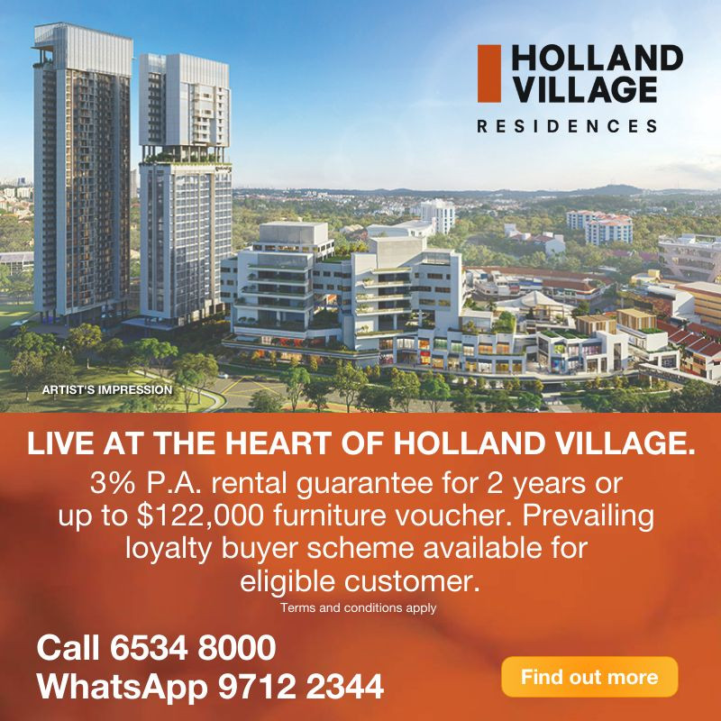 One Holland Village Residences - New Launch Apartment 2021