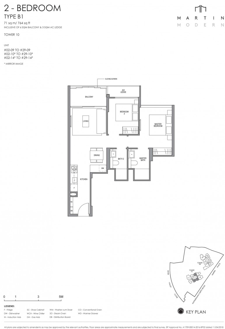 Martin Modern - Floor Plan 13