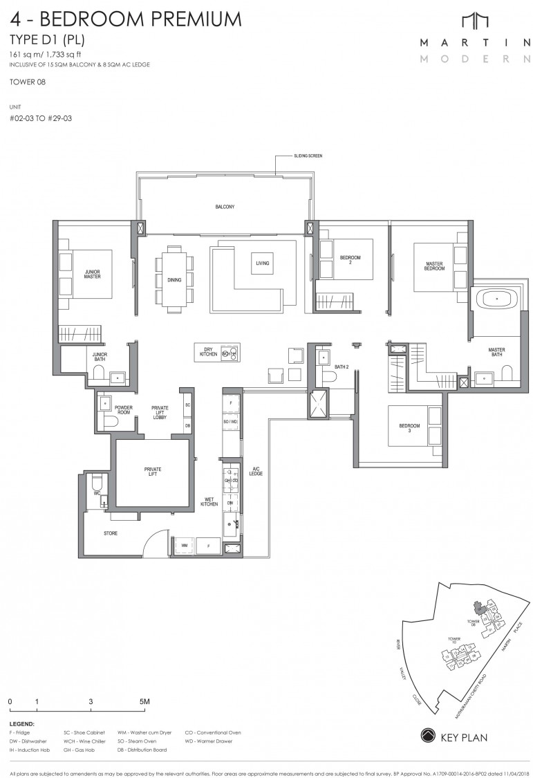 Martin Modern - Floor Plan 16