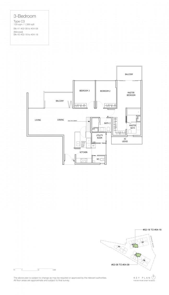Mon Jervois - Floor Plan 8
