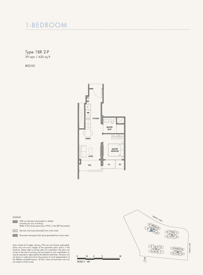 Parc Botannia - Floor Plan 15