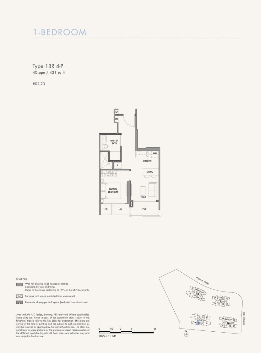 Parc Botannia - Floor Plan 17