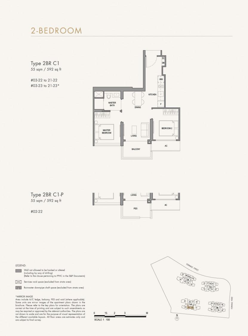 Parc Botannia - Floor Plan 21