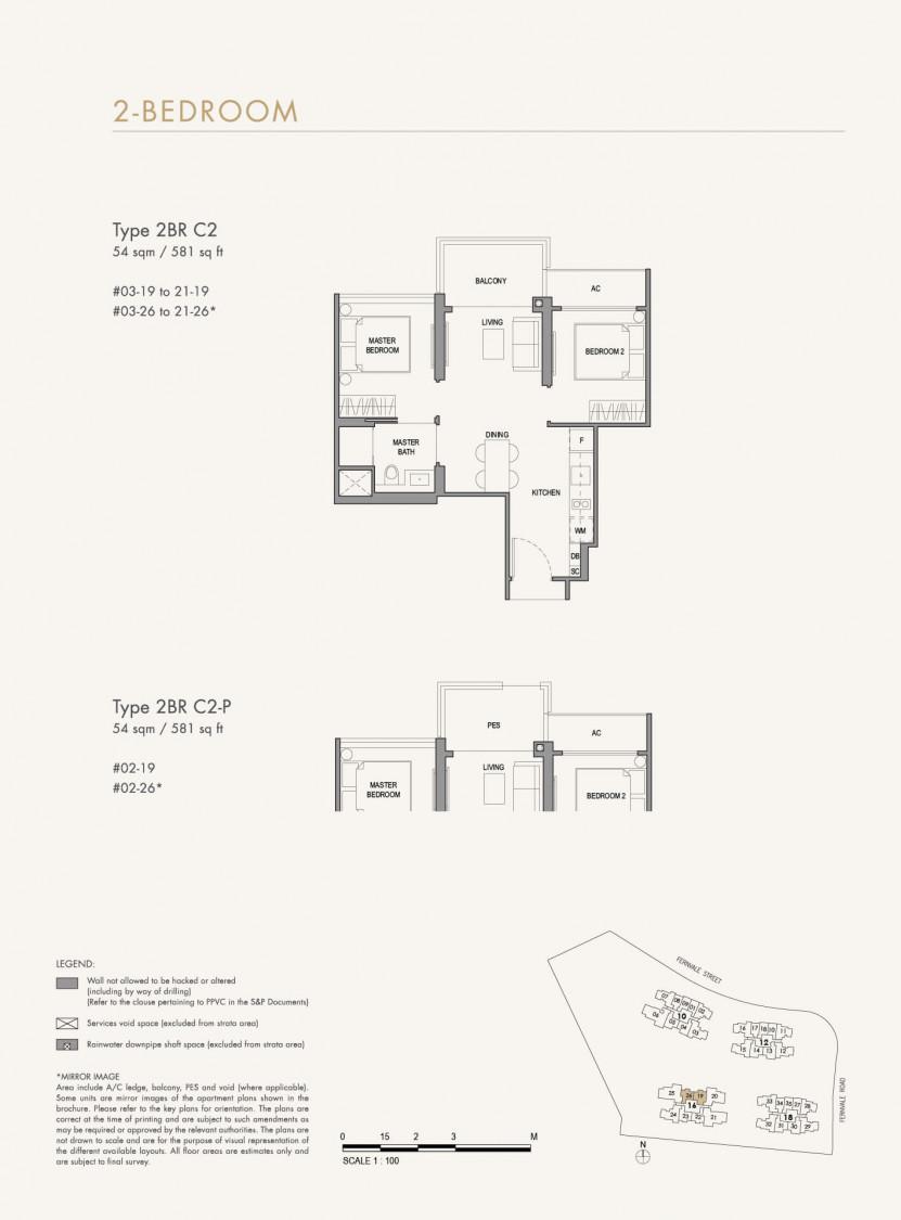 Parc Botannia - Floor Plan 23