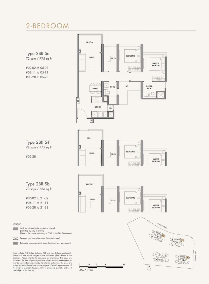 Parc Botannia - Floor Plan 28
