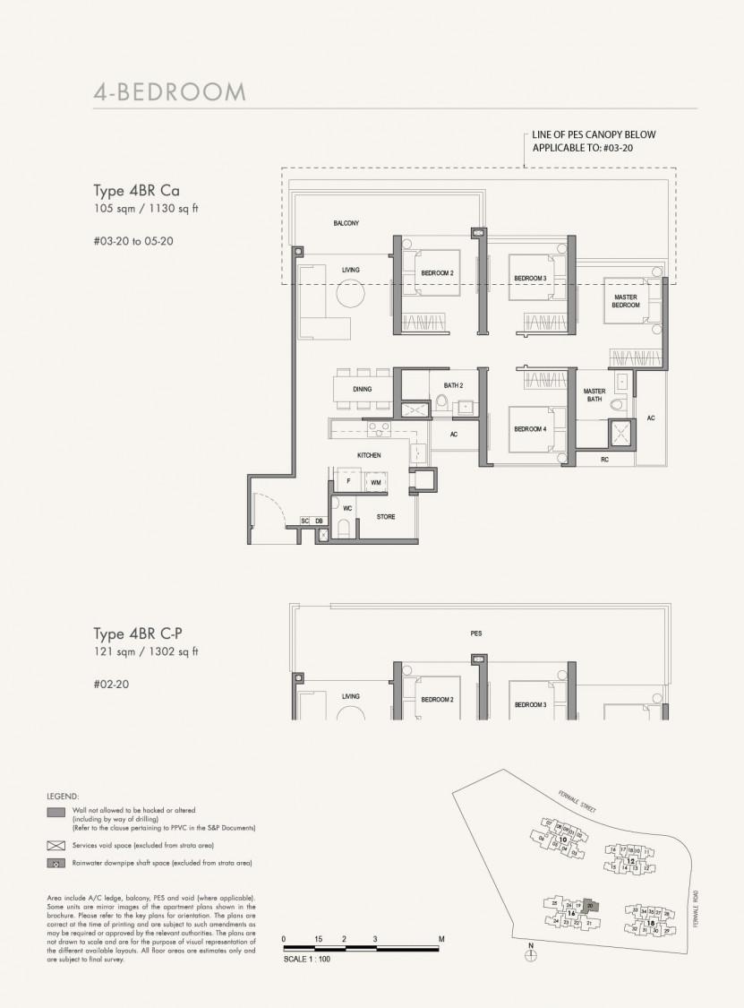Parc Botannia - Floor Plan 42