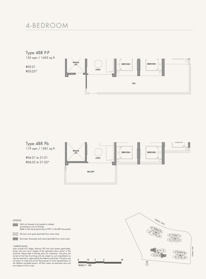 Parc Botannia - Floor Plan 45