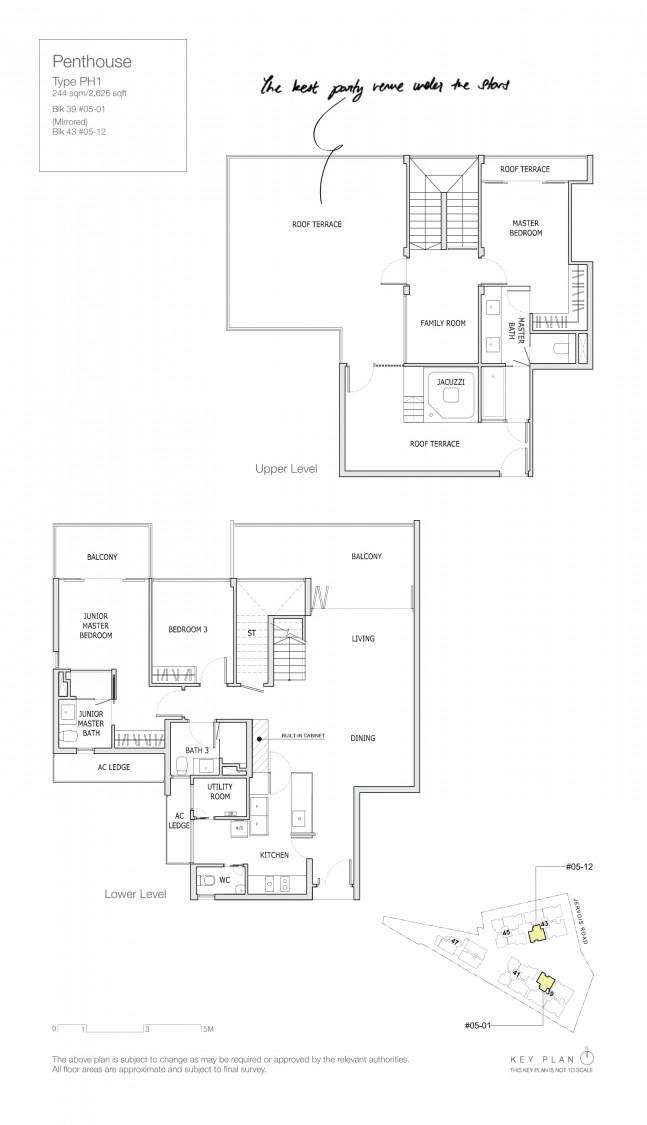 Mon Jervois - Floor Plan 9