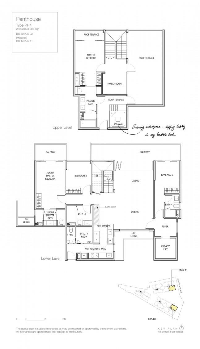 Mon Jervois - Floor Plan 12