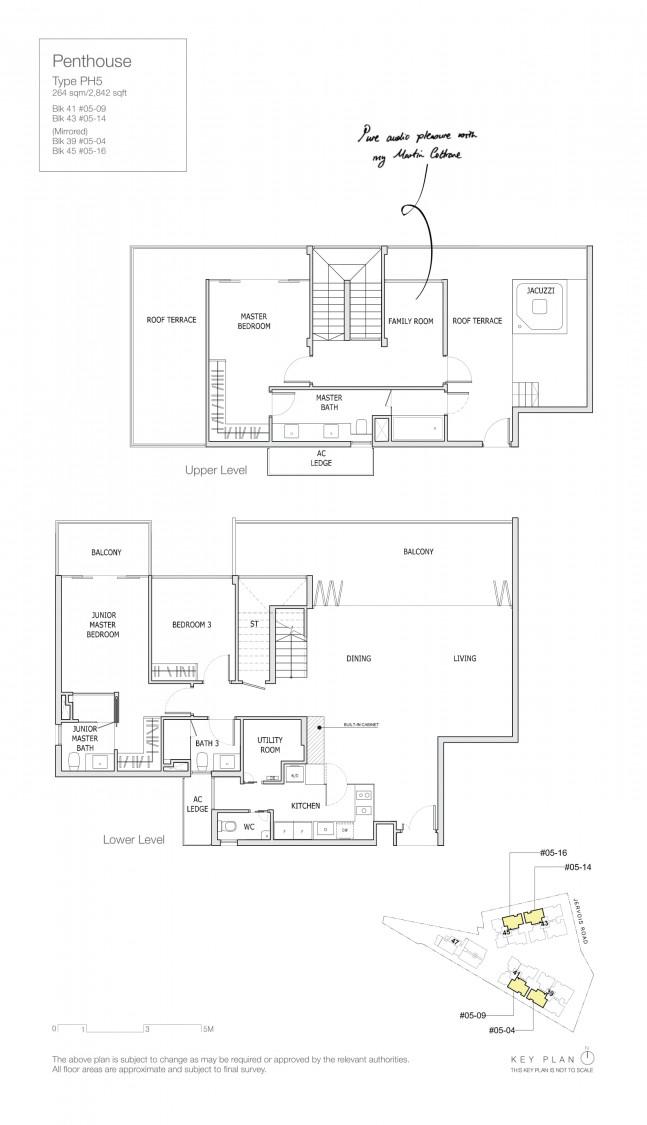 Mon Jervois - Floor Plan 13