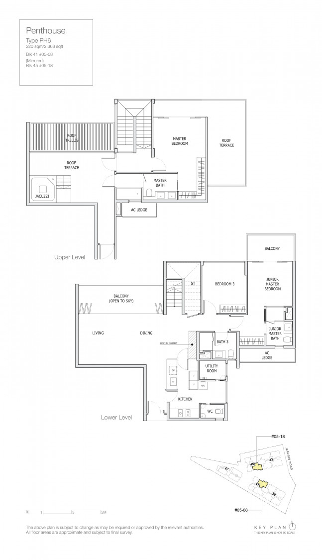 Mon Jervois - Floor Plan 14