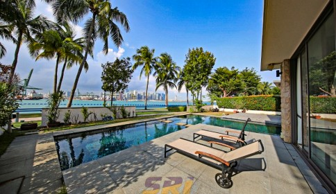 EDGEPROP SINGAPORE - It seems the trend is no longer limited to glitzy Sentosa Cove bungalows and has started to appear at other properties and on the mainland