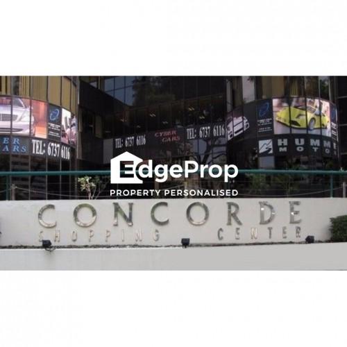 CONCORDE SHOPPING CENTRE - Edgeprop Singapore